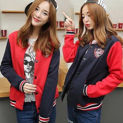 [詳細セブンスレター、ck101]女性ニューヨーク32スタジアム航空ジャンパー韓国デザインスタイリッシュなファッション熱い販売