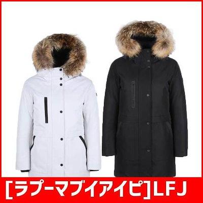 [ラプーマブイアイピ]LFJU7D013の女性ヘリンボーンドッグダウンジャンパー / パディング/ダウンジャンパー/ 韓国ファッション