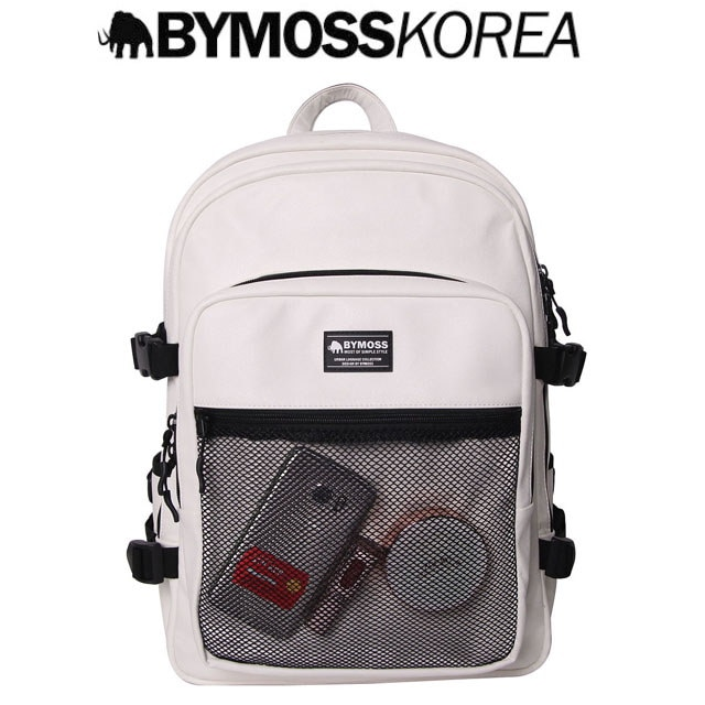 [BYMOSS] バイモス マキシマム  3シリーズ★ leather new product★/ White