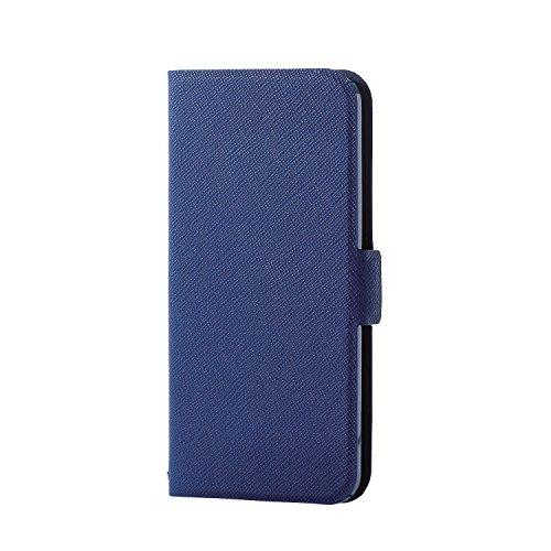 エレコム iPod Touch 【第6世代 / 第7世代】 ケース 手帳型 レザーカバー ウルトラスリム サイドマグネットブルー AVA-T17PLFUBUブルー