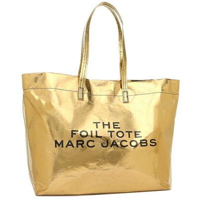 マークジェイコブス バッグ MARC JACOBS M0014874 710 THE FOIL TOTE レディース トートバッグ GOLD 金