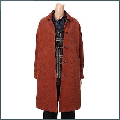 [コベッブラン]コーデュロイオボピッコート(V189MCT124) /ケープ・コート/マント/コート/韓国ファッション