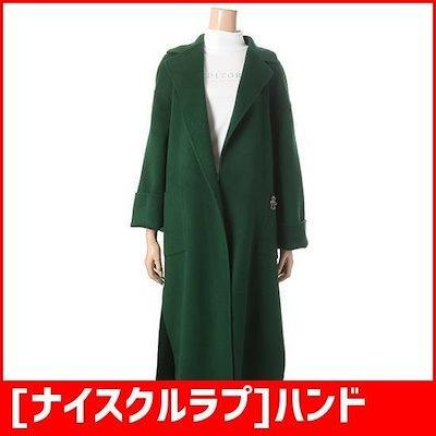 [ナイスクルラプ]ハンドメードの横スリットコート(N184MWCA48) /ロングコート/コート/韓国ファッション