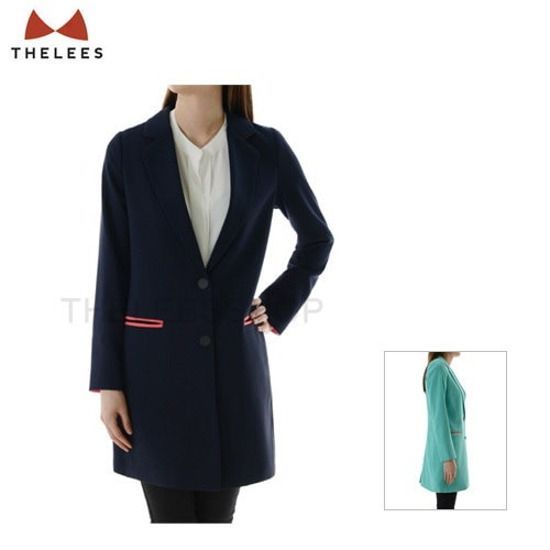 WB0305 Womens Slim Fit Single Breasted 2 Button Coat