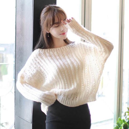 フィオナエンジェルパールknitm5383ニート ニット/セーター/ニット/韓国ファッション