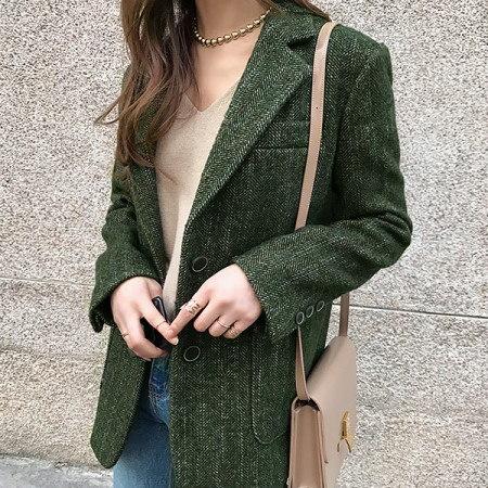 メ露テーラードジャケットkorean fashion style