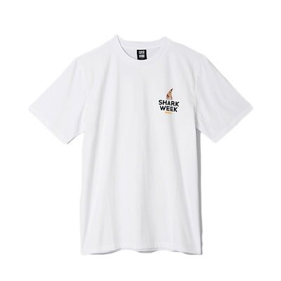 SHARK WEEK T-SHIRT [White]