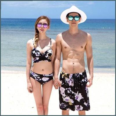 [ビキブルリ][行き来するように/ビキブルリ]パンジーカップルビキニSET /ファッションアクセサリー/小物 / 韓国ファッション