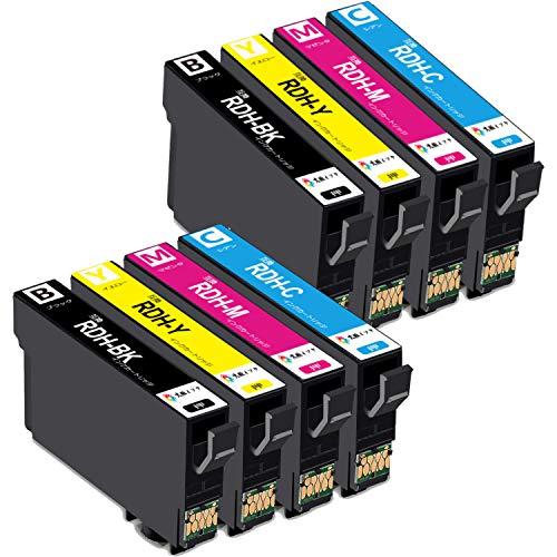 epson インクカートリッジ px-049a px-048a用 RDH-4CLx2パック【8本セット】エプソンプリンターインク