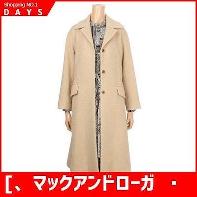 [、マックアンドローガンの(女性)]アルパカコート(1H4MLPCT060) /ポコート/コート/韓国ファッション
