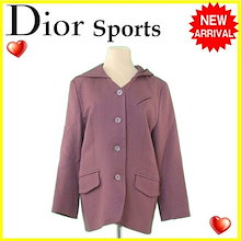 89b32061eeebe クリスチャンディオールスポーツ Christian Dior Sports コート フード付き レディース ♯Lサイズ 千鳥柄 ブラウン