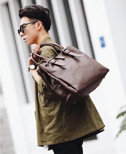 【新作限定❤】✨韓国ファッション♥大人気/おしゃれな/大容量/カジュアル/レトロ/トートバッグ/バッグ/メンズ