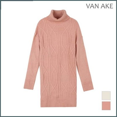 [バンエイク][バンエイク]女性エメラルドの模様と組み立てニットシャツV72KTH323Z /ニット/セーター/ニット/韓国ファッション