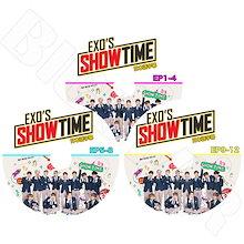 【K-POP DVD】☆★EXO Show time EP1-EP12完 SET【3枚】【日本語字幕あり】【エクソ スホ チャンヨル ベクヒョン ディオ シウミン チェン カイ セフン KPOP】