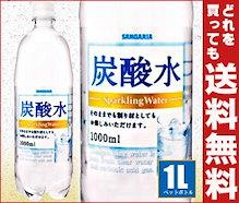 【送料無料】【2ケースセット】 サンガリア  炭酸水  1Lペットボトル×12本入×(2ケース)  ※北海道・沖縄・離島は別途送料が必要。