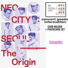 [送料無料] [NCT] NCT CARD HOLDER + PHOTO CARD SET CONCERT GOODS  [NEO CITY SEOUL The Origin] コンサートグッズ