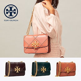 【TORYBURCH】 ELEANOR QUILTED CONVERTIBLE SHOULDER BAG 73590