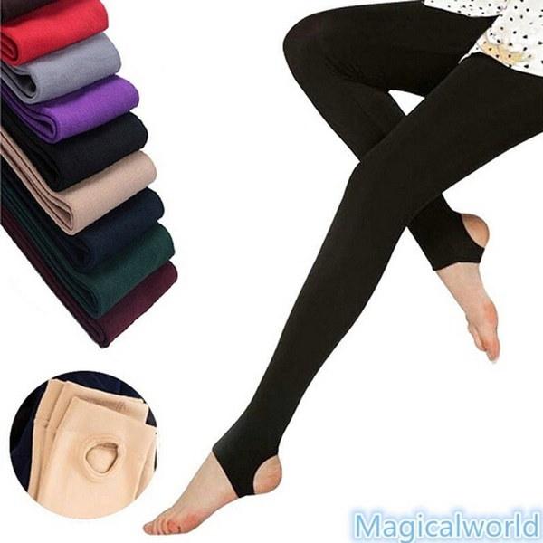 女性の柔らかい秋冬の暖かい綿のパンツは、モノラルのブラジャーのパンツの女性のパンティーホースL