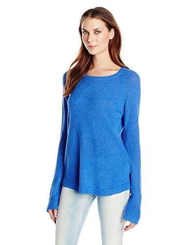 MINKPINK Womens Knit Sweater, Blue Belle, Small
