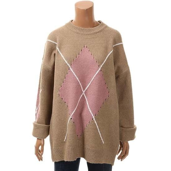カルチャースターキンダイアR WSKPHB43 ニット/セーター/韓国ファッション