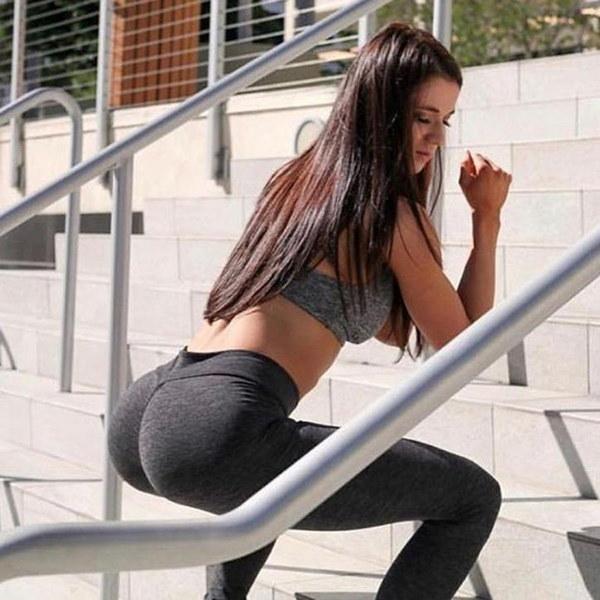女性Hightウエストヨガフィットネスレギンスランニングジムストレッチスポーツズボンズボン工場Prcieギフト