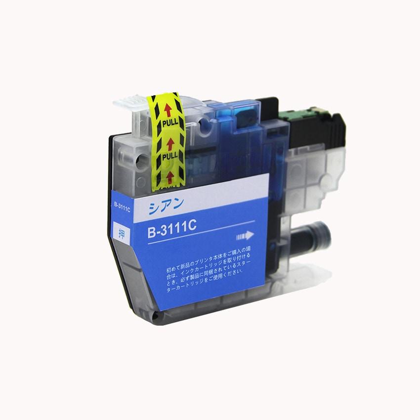 LC3111C 単品 シアン BR社 プリンター用互換インク ICチップ付 残量表示