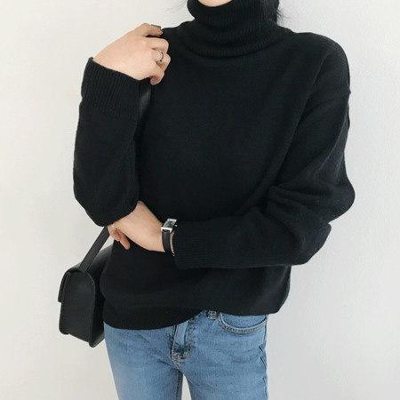 ノーマンポーラニットKorean fashion style