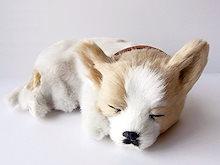 [ぬいぐるみ] 本物そっくりに眠る犬のぬいぐるみ|パーフェクトペット|チワワ(スムース)