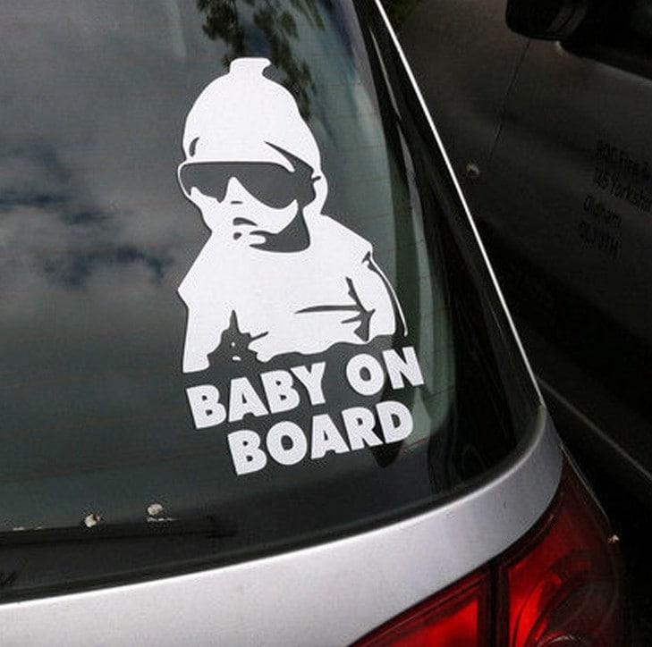 赤ちゃんが乗っています ステッカー 車 かっこいい おしゃれ Baby in car シール 赤ちゃん 子供 ベイビー ベビー セーフティ 大きい 安全 煽り 予防 送料無料