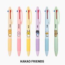 【Kakao friends】カカオフレンズ3色ボールペン3個セット/Kakao friends 3 colors ball pen 3p set/6種・0.7mm・11X145㎜