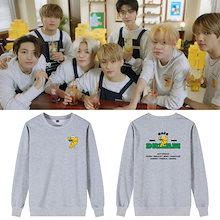【限時優惠 】NCT DREAM 着用トレーナー長袖 半袖Tシャツ 服 韓国ファッション 男女兼用 トップス  グッズ