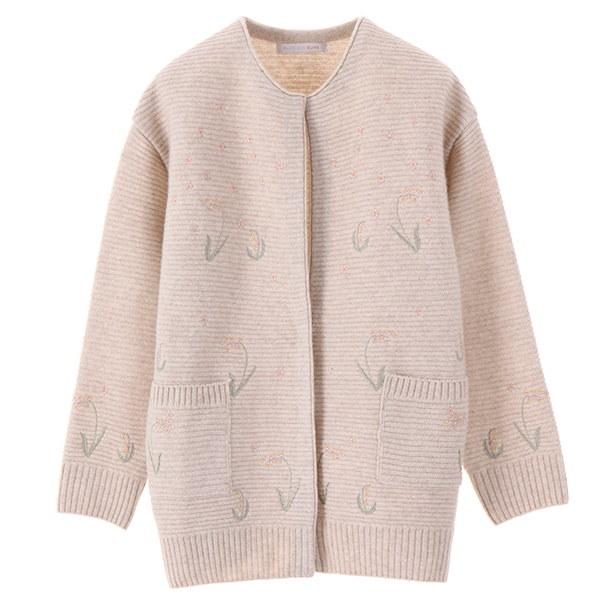 [韓国直送] 【オリーブデオリーブ] embroidery point cardigan OK7WD814