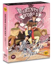 DVD送料無料シャイニーの2番目のコンサートSHINee THE 2nd CONCERT SHINee WORLD2 in SEOUL +フォトカード韓国音楽チャートCodeALL日本字幕つきKPOP