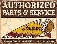 認定されたインドの部品とサービスティンサイン13 x 16in
