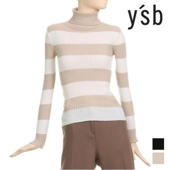 イエス費2度ダンカラポルラネク・ニットYB4LK026 ニット/セーター/パターンニット/韓国ファッション
