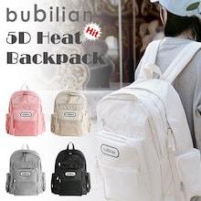 [BUBILIAN] 5D HEAT BACKPACK / 5つの色 / 韓国ストリートブランド/韓国と日本のベストセラーバッグ /