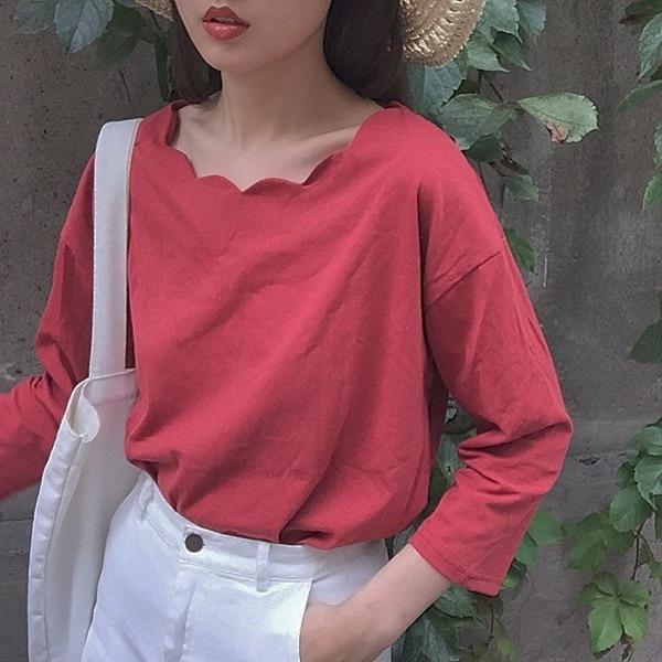 【送料無料】レディース トップス シャツ カットソー 2017年 新作 ファッション シンプル