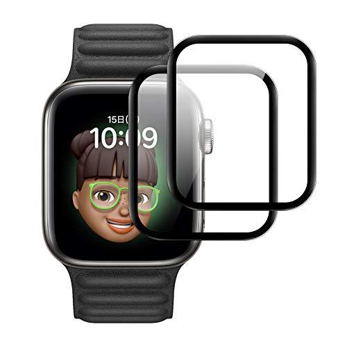 【残りわずか】 【6枚入り】Apple Watch 保護フィルム Series 6 /SE/5/4 44mm Velagol アップルウォッチ保護カバー TPUフィルム 耐指紋・衝撃 高透過率