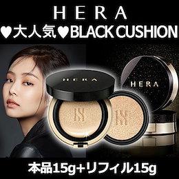 [HERA/ヘラ]★T#★ブラッククッション15g +詰め替え15g /SPF34 PA ++/セミマットクッションファンデーション/HERA BLACK CUSHION/韓国コスメ