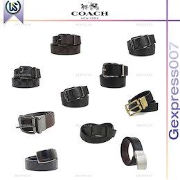 即発 COACH コーチ アウトレット メンズ リバーシブル レザー ベルト 38mm 各種 F56160 F64842 F55157 F64839 F12026 F64840