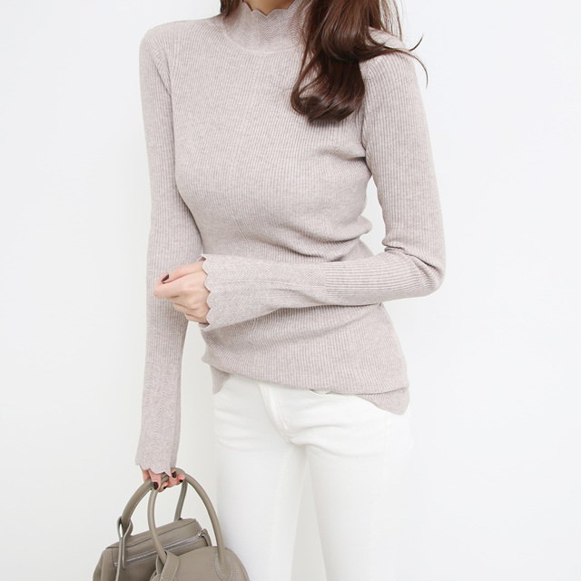 [Deming] Polar Knit Wave Color 4