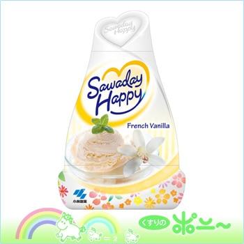 Sawaday Happy(サワデーハッピー) フレンチバニラの香り 150g【小林製薬】【4987072040867】【納期:10日程度】