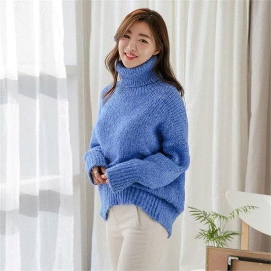 るみさん行き来するようにるみさんるみさんハイポーラポグニ・ニット ニット/セーター/ニット/韓国ファッション