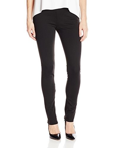 BCBGeneration Womens Inseam Zipper Legging, Black, Large