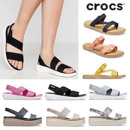 【送料無料】[CROCS] 206081 Womens LiteRide Stretch Sandal クロックス サンダル ストラップ サンダル  レディース