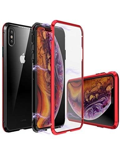 ba04f51385 [iPhoneケース] iPhone Xs ケース 対応 uovon マグネット式 360°全面保護 アイフォン