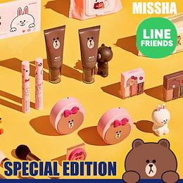 [MISSHA]LINE FRIENDS / ミシャ/ハンドクリーム/パーフェクトカバーBB/シャドウパレット/可愛い/韓国コスメ