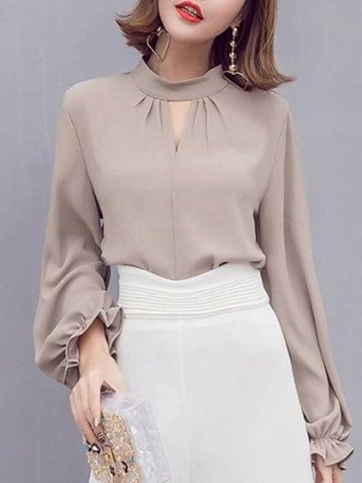 OL エレガント チャーミング ルーズ ファッション 気質溢れる トップス ブラウス