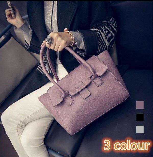 レディースバッグ かばん ファッション シンプル 手提げバッグ/斜め掛け 無地 旅行/通学/ビジネス/鞄/レザー セール 新作 レディース