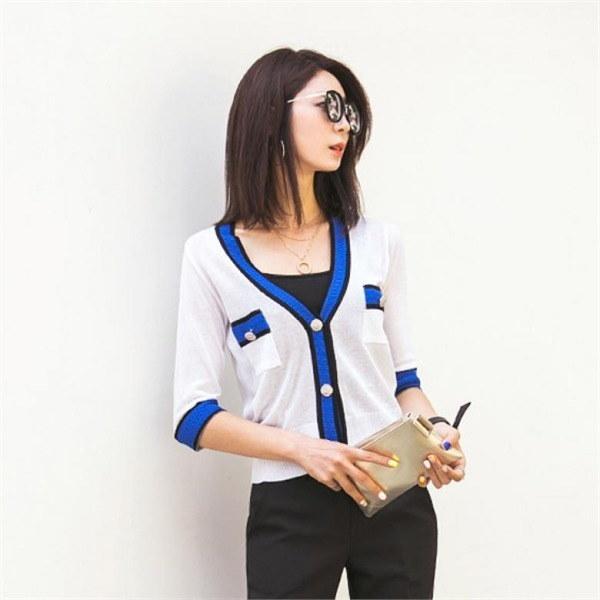 ナク21ブルームーン7部カディゴンKN01249 new 女性ニット/カーディガン/韓国ファッション